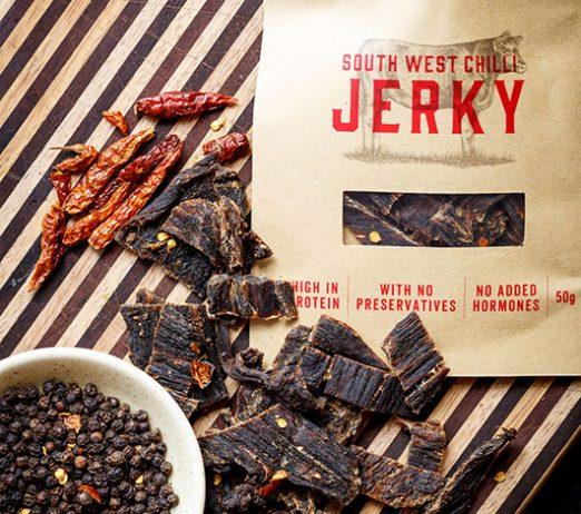 South West Chilli Jerky 50g