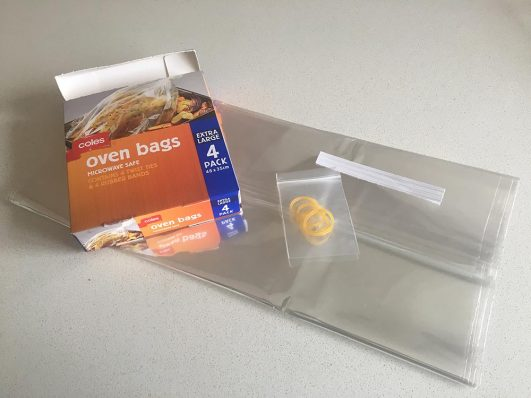 Use an oven bag to cook