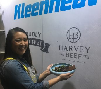 Eva from My Kitchen Rules cooks beef bulgogi