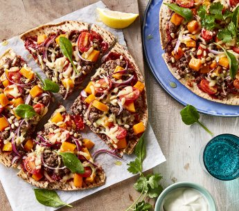 Middle-Eastern-beef-and-pine-nut-pizzas
