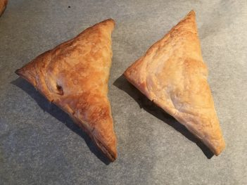 Baked Smoky American Brisket Puff Pastry