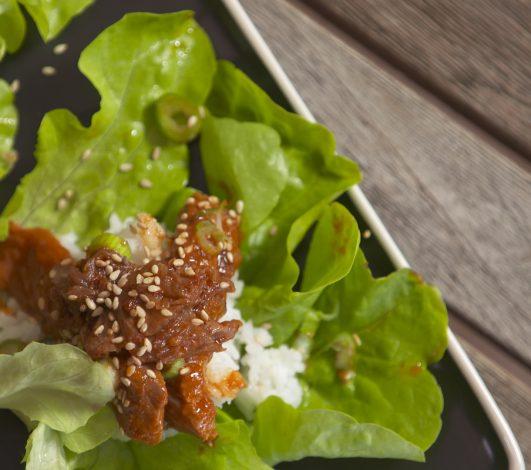 Korean Lettuce Cups Harvey Beef