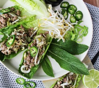 Deb-Eva-Thai-Beef-Larb Harvey Beef