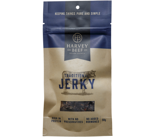 Harvey Beef Traditional Jerky 50g