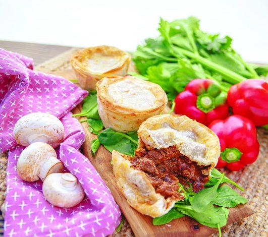 Harvey Beef & Mushroom Pies