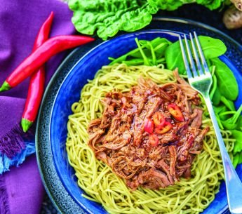 Pulled Asian Beef & Noodles