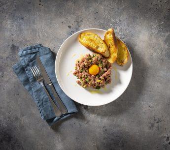 Matt Moran's Harvey Beef tartare