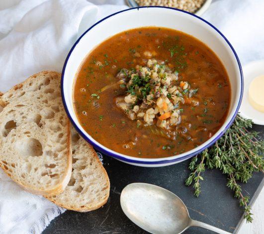 Harvey Beef Barley Soup