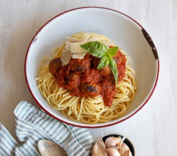 Harvey Beef Spaghetti & Meatballs